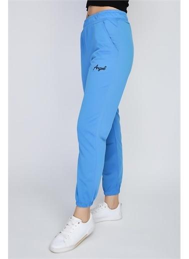 Rodi Jeans Kadın Angel Nakışlı Paça Lastikli Alt Eşofman Ds21Yb091018 Mavi